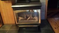 WANTED propane direct vent fireplace