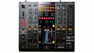 MINT condition Pioneer DJM 2000 mixer with deck saver 1800 OBO