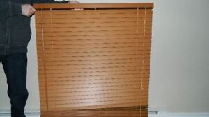 "1.5"" Blinds PVC Brown $25.00"