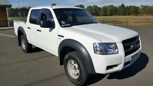 2008 Ford Ranger PJ 07 Upgrade XL (4x2) White 5 Speed Automatic Cab Chassis Condell Park Bankstown Area Preview
