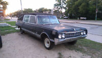 1964 OLDSMOBILE HEARSE (new pics)