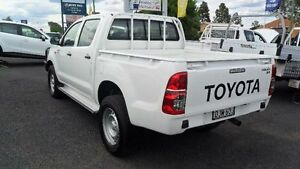 2014 Toyota Hilux KUN26R SR White Automatic Utility Mudgee Mudgee Area Preview