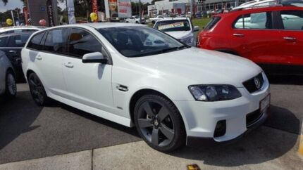 2012 Holden Commodore VE II MY12 SV6 Sportwagon White 6 Speed Sports Automatic Wagon