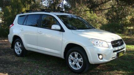 2012 Toyota RAV4 ACA33R MY12 Cruiser White 4 Speed Automatic Wagon Oaks Estate Queanbeyan Area Preview
