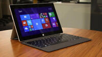 Surface 2 with Back lit Type Cover and 2 Power Adapters