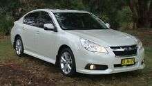 2013 Subaru Liberty B5 MY14 2.5i Lineartronic AWD Premium White 6 Speed Constant Variable Sedan Oaks Estate Queanbeyan Area Preview