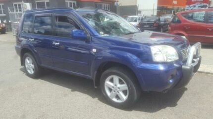 2005 Nissan X-Trail T30 TI (4x4) Blue 4 Speed Automatic Wagon Revesby Bankstown Area Preview