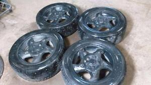 225 50 16 BEST TIRES with aluminum alloy rims