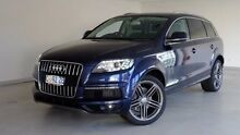 2012 Audi Q7 MY13 TDI Tiptronic Quattro Blue 8 Speed Sports Automatic Wagon Hobart CBD Hobart City Preview