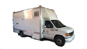 2005 FORD E450 CAMERA TRUCK  Cash/ trade/ lease to own terms.