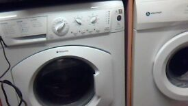 HOTPOINT washing machine with 13 settings and eco