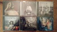 Lacuna Coil and Epica CDs