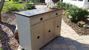 Painted and Refinished Duncan Phyfe Buffet Sideboard