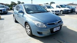 2008 Hyundai i30 FD MY09 SX Blue 5 Speed Manual Hatchback St James Victoria Park Area Preview