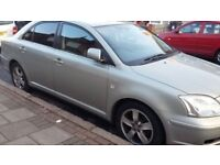Toyota Avensis Automatic Saloon Silver