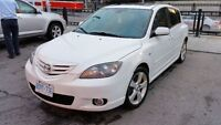 2006 mazda3 GT FULLY LOADED,LEATHER,AUTO,AC...