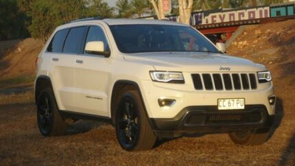 2015 Jeep Grand Cherokee WK MY15 Limited White 8 Speed Sports Automatic Wagon