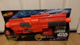 Large Nerf gun, star wars rogue one, brand new