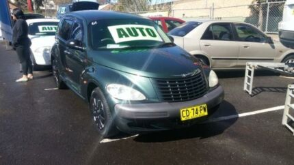 2001 Chrysler PT Cruiser Classic Green 4 Speed Automatic Hatchback Woodbine Campbelltown Area Preview