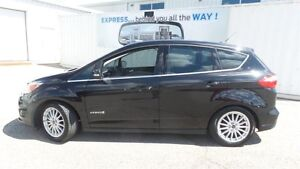 2013 Ford C-Max Hybrid SEL | Lthr | Navi | Glass Roof Kitchener / Waterloo Kitchener Area image 2