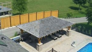 Shingles and Installation Available for a Shed/Gazebo/Workshop