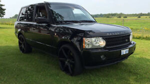 MINT -- BLACK SUPERCHARGED RANGE ROVER LOADED -- DEAL!!!