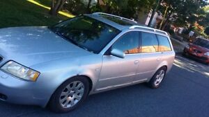 Audi a6 1999 full cuir toit ac excellente condition