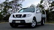 2014 Nissan Navara D40 S8 ST-X King Cab White 5 Speed Automatic Cab Chassis Hobart CBD Hobart City Preview