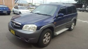 2004 Mazda Tribute Classic Blue 4 Speed Automatic 4x4 Wagon Georgetown Newcastle Area Preview
