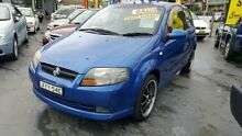 2006 Holden Barina TK MY07 Electric Blue 4 Speed Automatic Hatchback Haberfield Ashfield Area Preview