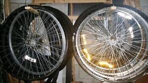 Bike Wheels, tires and rims