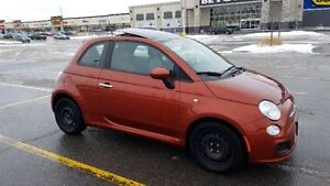 ****REDUCED PRICE***$6499 **2012 Fiat 500-47000km winter tires