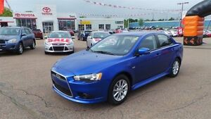2015 Mitsubishi Lancer SE - FREE WINTER TIRES!!