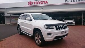 2013 Jeep Grand Cherokee WK MY14 Overland (4x4) White 8 Speed Automatic Wagon Dubbo Dubbo Area Preview