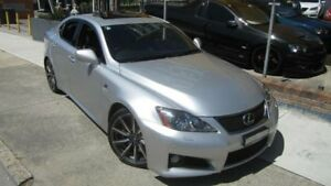2008 Lexus IS F USE20R Silver 8 Speed Automatic Sedan Homebush Strathfield Area Preview