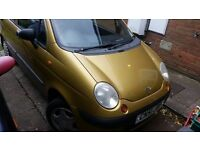Daewoo Matiz 2002 cheap car