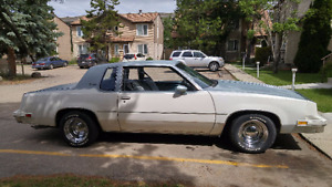 1981 Oldsmobile Cutlass Supreme, very good condition.