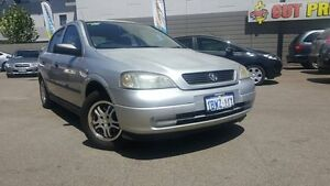 2004 Holden Astra TS Classic Silver 5 Speed Manual Hatchback Victoria Park Victoria Park Area Preview