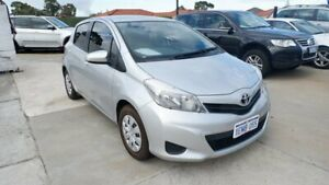 2014 Toyota Yaris NCP130R YR Silver 5 Speed Manual Hatchback St James Victoria Park Area Preview
