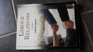 Labour Relations, 4th canadian edition by Suffield