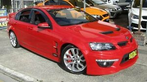 2009 Holden Special Vehicles Clubsport E2 Series R8 Red 6 Speed Auto Active Sequential Sedan Homebush Strathfield Area Preview
