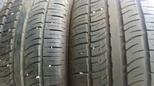 2 new SUV all season tires Pirelly 255/50ZR19 $260 for 2 tires.
