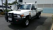 2014 Toyota Landcruiser VDJ79R GXL French Vanilla 5 Speed Manual Cab Chassis Acacia Ridge Brisbane South West Preview