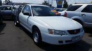 2004 Holden One Tonner VY II White 4 Speed Automatic Cab Chassis Heatherton Kingston Area Preview