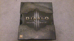 French Collector's Edition of Diablo 3 Reaper of Souls Sealed PC