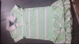 Ralph Lauren summer green dress age 4