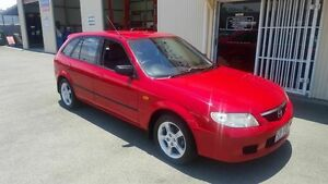 2003 Mazda 323 BJ Astina Shades Red 4 Speed Automatic Hatchback Coopers Plains Brisbane South West Preview