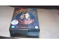THE TUDORS-THE COMPLETE SERIES-SEASONS 1-4 - NEW, STILL SEALED DVD BOX SET