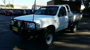 2005 Ford Courier PH GL (4x4) White 5 Speed Manual Cab Chassis Georgetown Newcastle Area Preview