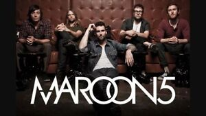 MAROON 5 >>> FRIDAY FEBRUARY 24th 7:30pm >>> 12 ROWS FROM STAGE